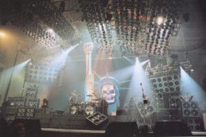 Palco da Revenge Tour
