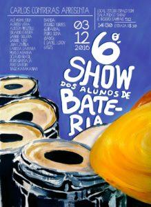 Cartaz 6º Show dos Alunos
